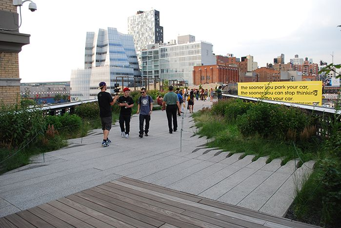 A Comparison of the 3 Phases of the High Line 14-Part Series