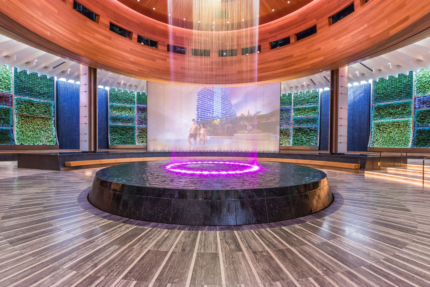 Seminole Hard Rock Hotel & Casino Hollywood Greenwalls and Plant Installations Featured Image