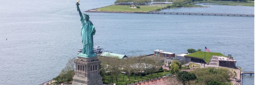 Statue of Liberty Museum Greenroof