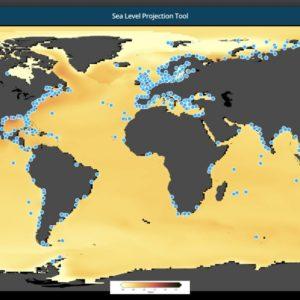 NASA sea level projection tool