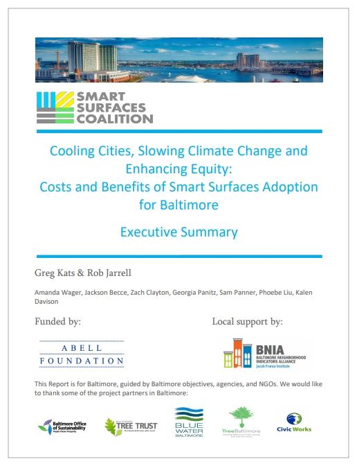 Smart Surfaces Coalition Report